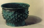 A copper gui called 'Yufu Gui' , a kind of food vessel used in the Western Zhou dynasty unearthed in Kazuo,Liaoning