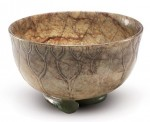 A jade bowl of the Ming Dynasty (1368-1644)
