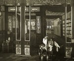 In 1927 Mei Lanfang put on a Peking Opera with a full range of real stage setting, an innovation at the time. Photo by courtesy of Mei Lanfang Museum.